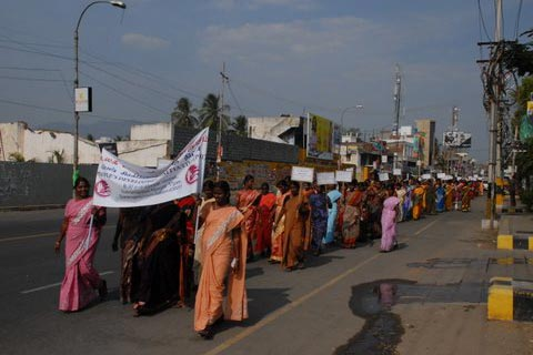 Womens day rally