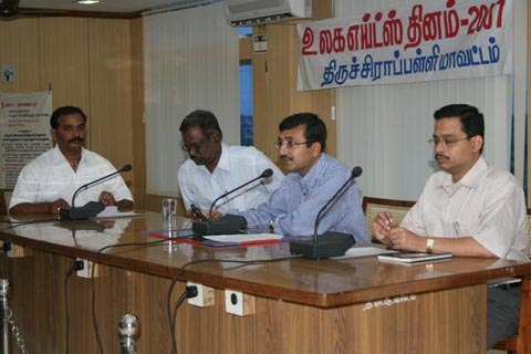 Grievance Day for PLHIVs Tiruchy Collector PDI Tiruchy